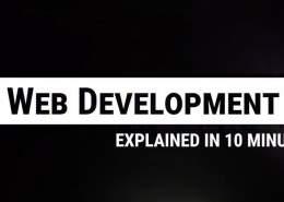توسعه وب در 10 دقیقه